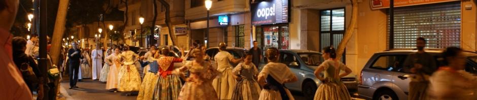 Nuestro grupo de danza participa en las celebraciones de San Vicente