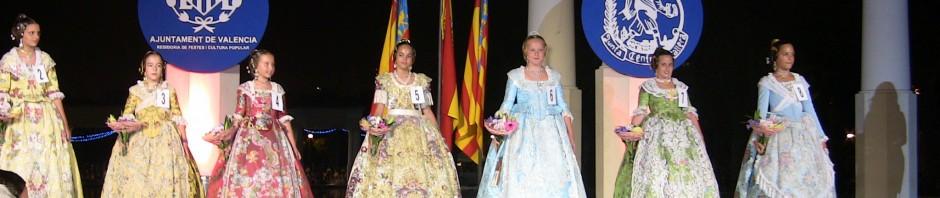 Preselecciones Fallera Mayor 2012