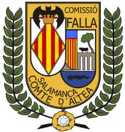 Falla Salamanca-Conde de Altea